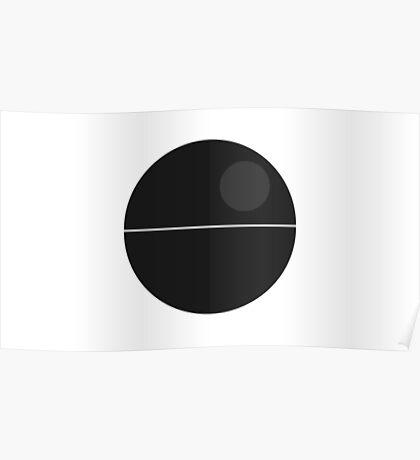 Minimal Deathstar Poster