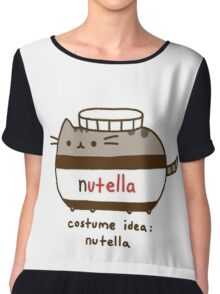Costume idea Nutella Chiffon Top