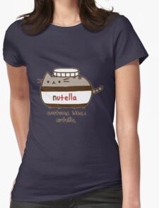 Costume idea Nutella Womens Fitted T-Shirt
