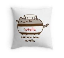Costume idea Nutella Throw Pillow