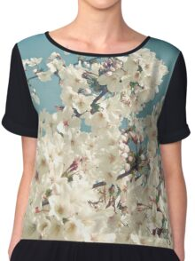 Buds in May Chiffon Top