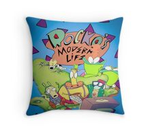 Rocko's Modern Family Throw Pillow