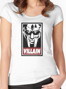 Villain | DOOM Women's Fitted Scoop T-Shirt