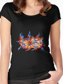 Abstract digital art - Charatiosa V4 Women's Fitted Scoop T-Shirt