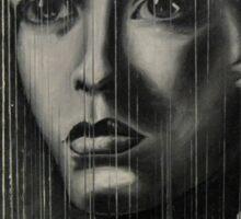 Billie Holiday - low ink Sticker