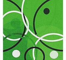Random Green Photographic Print