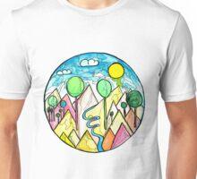 Flying dinos Unisex T-Shirt