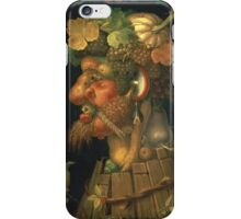 Vintage famous art - Giuseppe Arcimboldi - Autumn, From A Series Depicting The Four Seasons  iPhone Case/Skin