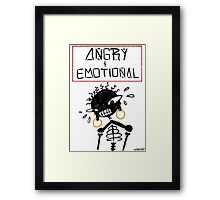 Angry 'N' Emotional Framed Print