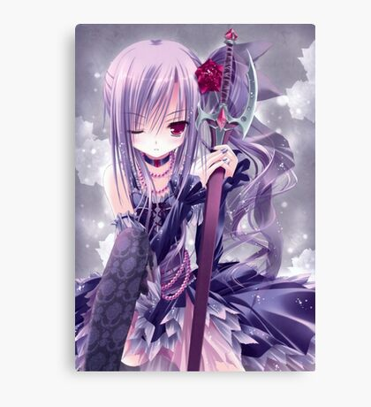 Clever Anime Canvas Print