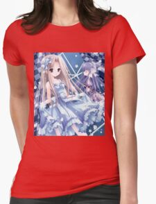 Beautiful Bride Anime Womens Fitted T-Shirt