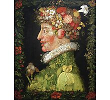 Vintage famous art - Giuseppe Arcimboldi - Spring, From A Series Depicting The Four Seasons  Photographic Print