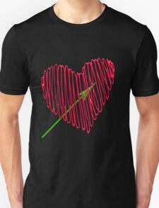 Heart  unique and  retro  Unisex T-Shirt