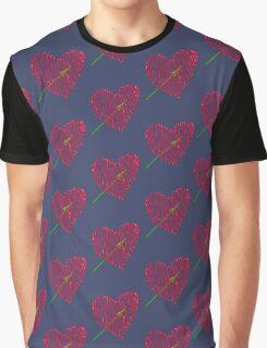 Heart  unique and  retro  Graphic T-Shirt