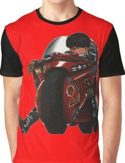Kaneda on his bike Graphic T-Shirt