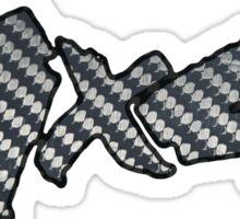 4x4 Carbon Fiber Sticker