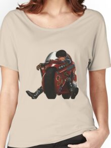 Kaneda on his bike Women's Relaxed Fit T-Shirt