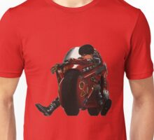 Kaneda on his bike Unisex T-Shirt