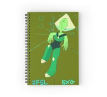 The Puny Thoughts of a Peridot Spiral Notebook