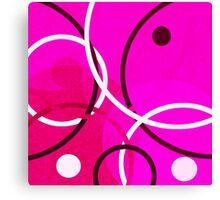 Random Pink Canvas Print