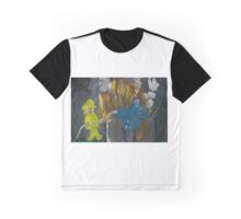 Putting Out Fires Left and Right Graphic T-Shirt