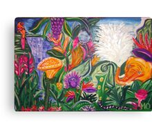 "Playing in the jungle ""Summer Party"" Canvas Print"