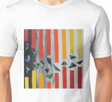 Escaping through barriers Unisex T-Shirt