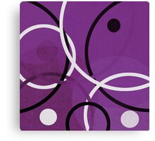 Random Purple Canvas Print