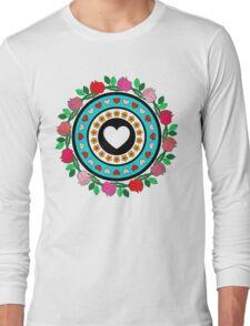 Floral Hearts!  Long Sleeve T-Shirt