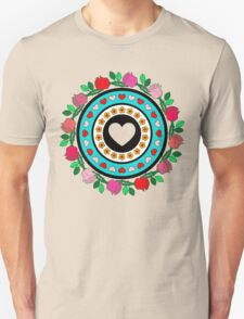 Floral Hearts!  Unisex T-Shirt