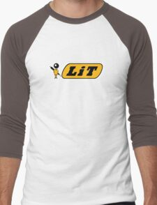 It's Lit Men's Baseball ¾ T-Shirt