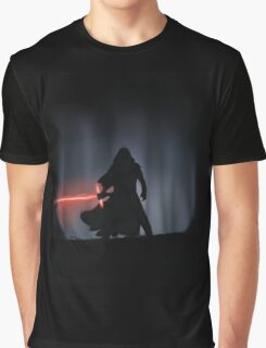 Kylo Ren in the Forest Graphic T-Shirt