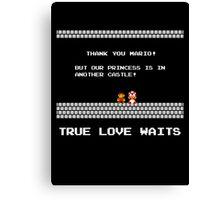 True Love Waits Canvas Print