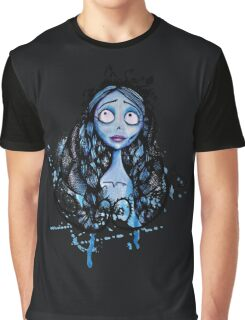 Watercolor Corpse Bride Graphic T-Shirt
