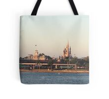 Magic Kingdom from the ferry boat Tote Bag