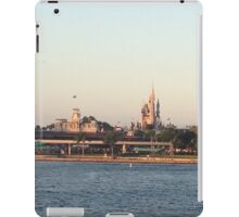 Magic Kingdom from the ferry boat iPad Case/Skin
