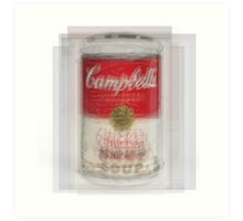 Campbell's Soup Can Overlay Art Print