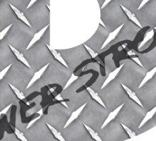 Powerstroke Diamond Plate Sticker