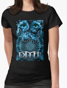 DMT - Blue Hands Womens Fitted T-Shirt