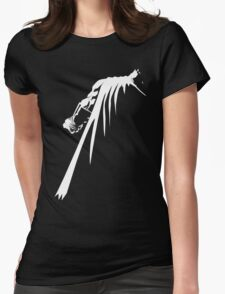 Withe knight Womens Fitted T-Shirt