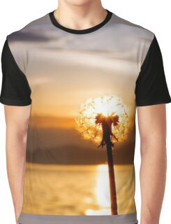 Dandelion sunset  Graphic T-Shirt