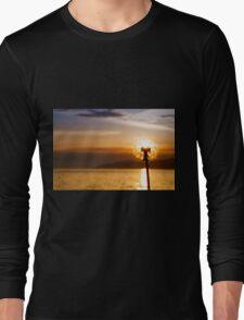 Dandelion sunset  Long Sleeve T-Shirt