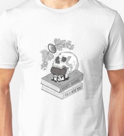 Heavy Books For A Heavy Heart Unisex T-Shirt