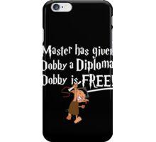 Dobby Graduate- No year iPhone Case/Skin