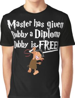 Dobby Graduate- No year Graphic T-Shirt