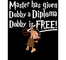 Dobby Graduate- No year Photographic Print