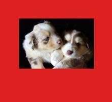 Adorable Australian Shepherd Puppies Unisex T-Shirt