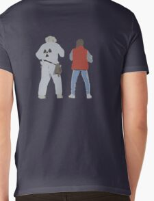 Back (s) to the Future  Mens V-Neck T-Shirt