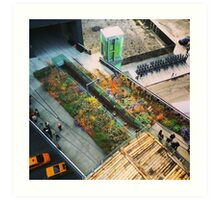 Above The High Line Art Print