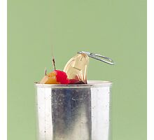 Hooked On Sugar; Canned Fruit Photographic Print